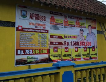 APBDes Perubahan Desa Gedangan 2017